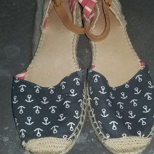 Women's Sperry Anchor Espadrille Style Sandal